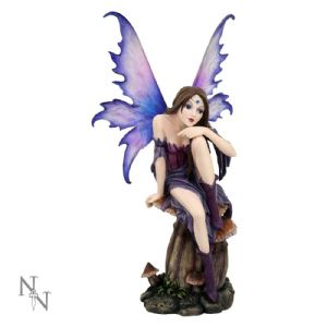 "Fairy~ Gothic Alternative Fairy Figurine ""Haven"" LARGE by Nemesis Now~ By Folio Gothic Hippy C1145D5"